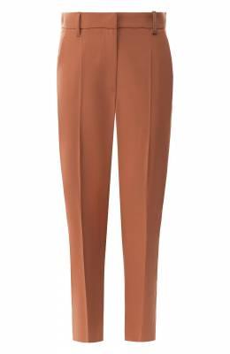 Шерстяные брюки со стрелками Brunello Cucinelli MA105P6673