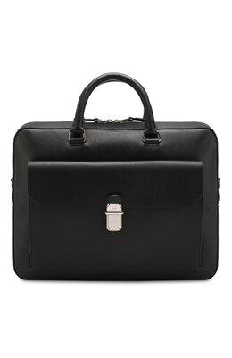 Кожаная сумка для ноутбука Dunhill DU19F3805AR