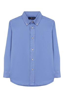 Хлопковая рубашка Ralph Lauren 321760822