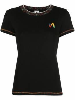 M Missoni футболка с аппликацией логотипом 2DL000252J002C
