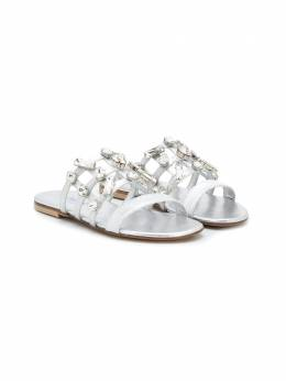 Mi Mi Sol сандалии с кристаллами 64756AV1K