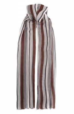 Кашемировый шарф Brunello Cucinelli MSCDAGW22