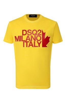 Хлопковая футболка Dsquared2 S71GD0811/S20694