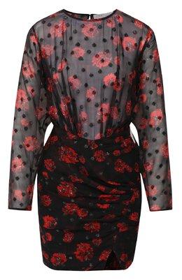 Платье из смеси вискозы и шелка Iro WP33ADELIN0