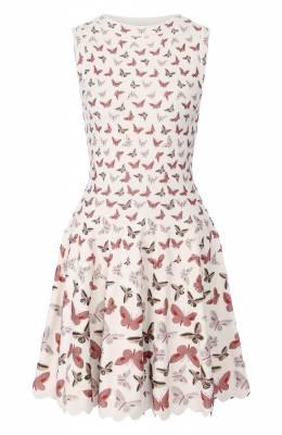 Платье из вискозы Alaia 9C9RM99CM505
