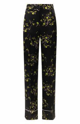 Шелковые брюки Dorothee Schumacher 648602/CHERRY BL0SS0M