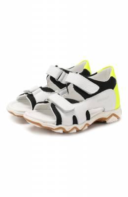 Кожаные сандалии с застежкой велькро Missouri 6012/18-26