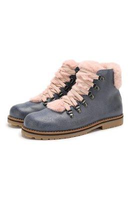 Кожаные ботинки Il Gufo G384/VIT. 0RLAND0C0L/35-42
