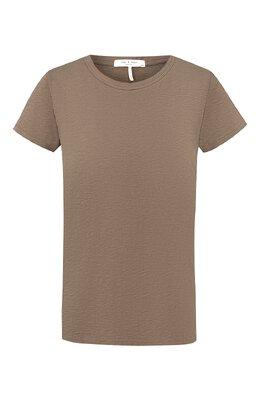 Хлопковая футболка Rag&Bone WCC19FT034CH34