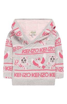 Кардиган с капюшоном Kenzo KP18003