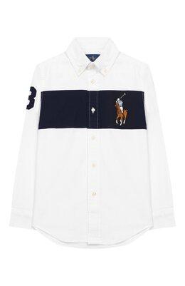 Рубашка с воротником button down Ralph Lauren 323745202