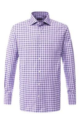 Хлопковая сорочка с воротником кент Tom Ford 5FT060/94S3AX