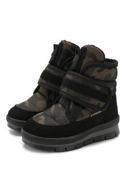 Текстильные ботинки Jog Dog 13024R/TU0N0 MIMETIC/23-28