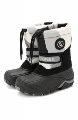 Утепленные сапоги Bogner Kids 493-9222/B0RMI0 JR. 1A