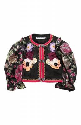 Укороченный жакет Dolce&Gabbana L52E02/G7SLI/2-6