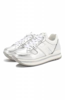 Кожаные кроссовки Hogan HXC2220T548KIV
