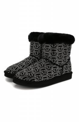 Замшевые ботинки Philipp Plein WSE0312