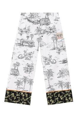 Хлопковые брюки No. 21 N2146S/N0056/N21P30F