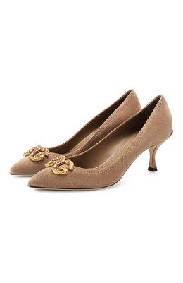 Замшевые туфли Lori Dolce&Gabbana CD1360/AV301