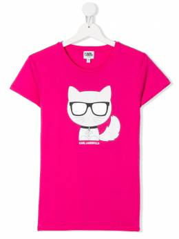 Karl Lagerfeld Kids футболка с логотипом Z15221487