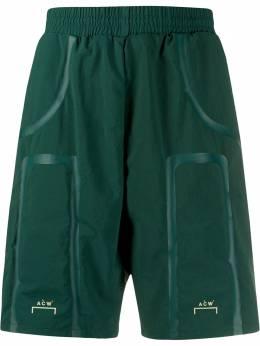 A-Cold-Wall* шорты Bracket Taped ACWMB001WHL