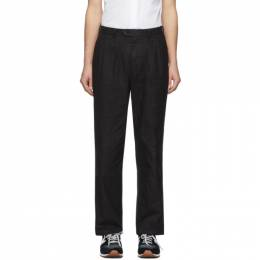 Junya Watanabe Black Gabardine Trousers WE-P007-051