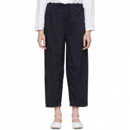 Comme Des Garcons Girl Navy Tropical Trousers NE-P005-051