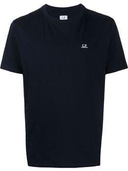 C.P. Company футболка с круглым вырезом и логотипом 08CMTS291A005100W