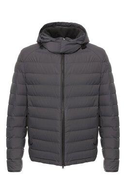 Пуховая куртка с капюшоном Brioni SUMQ0L/P8803