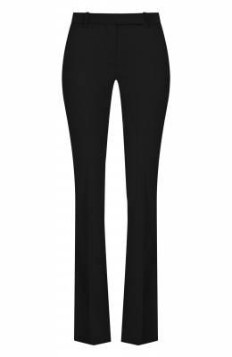 Шерстяные расклешенные брюки со стрелками Alexander McQueen 308721/QKJ12