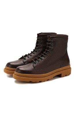Кожаные ботинки Brunello Cucinelli MZUCPAI855