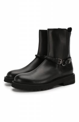 Кожаные сапоги Bottega Veneta 578286/VIFH0