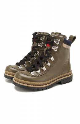 Кожаные ботинки Dsquared2 62441/28-35