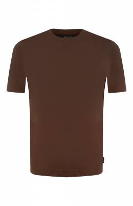 Хлопковая футболка Z Zegna VU348/ZZ641
