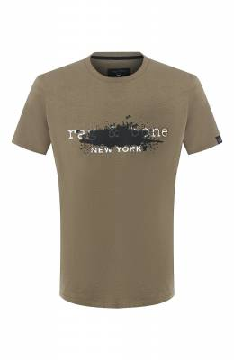 Хлопковая футболка Rag&Bone M292T21JG