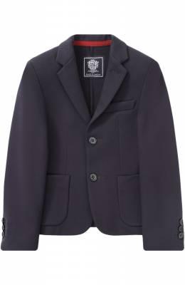 Однобортный пиджак джерси Dal Lago N068S/8111/4-6