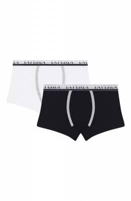 Комплект из двух хлопковых боксеров La Perla 52997/2A-6A