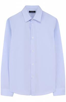 Хлопковая рубашка с воротником кент Dal Lago N402/7628/7-12