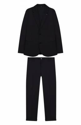Костюм из хлопкового пиджака и брюк Emporio Armani 3G4VJ7/4N32Z