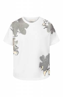 Хлопковая футболка 3.1 Phillip Lim E201-1914HCJ