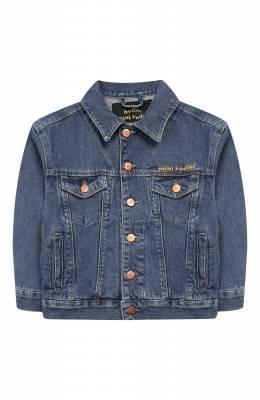 Джинсовая куртка Mini Rodini 1921011060