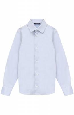 Хлопковая рубашка прямого кроя Dal Lago N402/1165/4-6