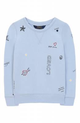 Хлопковый свитшот Polo Ralph Lauren 313735857