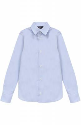 Хлопковая рубашка прямого кроя Dal Lago N402/1167/4-6