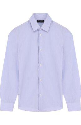 Хлопковая рубашка с воротником кент Dal Lago N402/7815/7-12