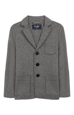 Хлопковый пиджак Il Gufo A19BF011M5031/5А-8А