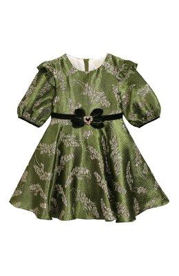 Платье с поясом David Charles 705