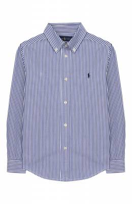 Хлопковая рубашка Ralph Lauren 321750006