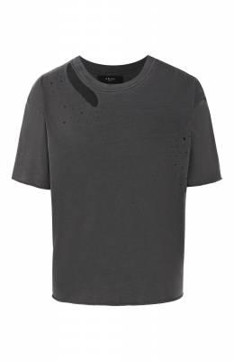 Хлопковая футболка Amiri W9W03345CJ