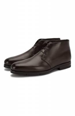 Кожаные ботинки Santoni MCAZ16775SI5YSKTT50